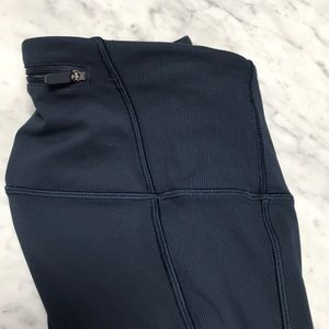 lululemon athletica Pants & Jumpsuits - Lululemon  on your markCrop Hight Rise Leggings